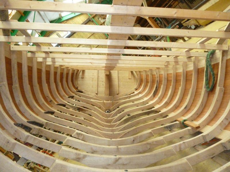 construction d u0026 39 un cotre aurique en bois de 6 20 m u00e8tres